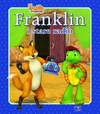 Franklin i stare radio - okładka książki