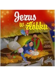 Jezus w żłóbku - okładka książki