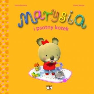 Marysia i psotny kotek - okładka książki