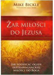 Żar miłości do Jezusa - okładka książki