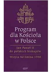 Program dla Kościoła w Polsce. - okładka książki