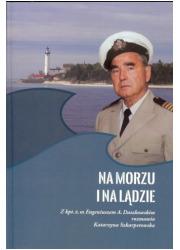 Na morzu i na lądzie - okładka książki