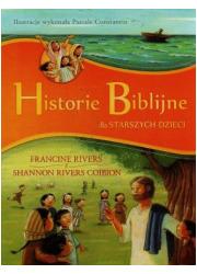Historie Biblijne dla starszych - okładka książki