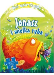 Jonasz i wielka ryba. 4 układanki - okładka książki