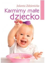 Karmimy małe dziecko - okładka książki