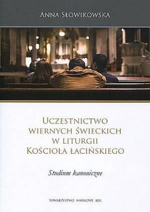Uczestnictwo wiernych świeckich - okładka książki