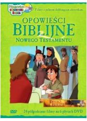 Opowieści Biblijne z Nowego Testamentu - okładka filmu