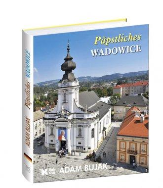Papieskie Wadowice (wersja niem.) - okładka książki