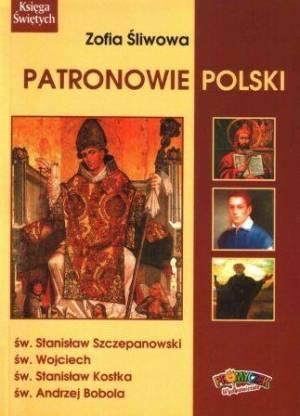 Patronowie Polski - okładka książki