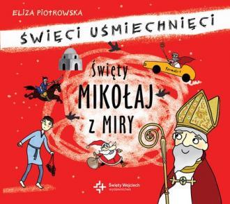 Święty Mikołaj z Miry - pudełko audiobooku