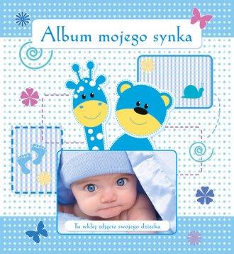 Album mojego synka - okładka książki
