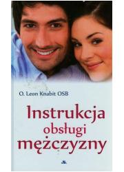 Instrukcja obsługi mężczyzny - okładka książki