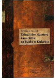 Księgozbiór klasztoru karmelitów - okładka książki
