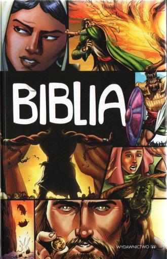 Biblia. Komiks. Boża historia odkupienia - okładka książki