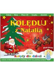Kolęduj z Natalią (+ CD, makieta - okładka książki
