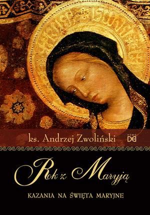 Rok z Maryją. Kazania na święta - okładka książki