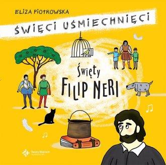 Święty Filip Neri - okładka książki