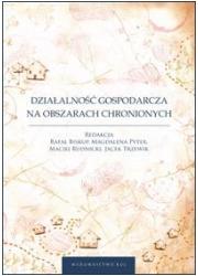 Działalność gospodarcza na obszarach - okładka książki