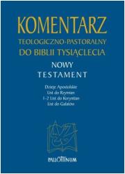 Komentarz teologiczno-pastoralny - okładka książki