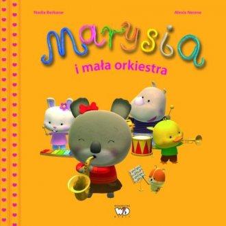 Marysia i mała orkiestra - okładka książki