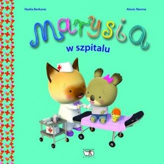 Marysia w szpitalu - okładka książki