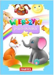 Wierszyki przedszkolaka - okładka książki