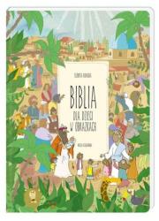 Biblia dla dzieci w obrazkach - okładka książki