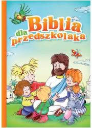 Biblia dla przedszkolaka - okładka książki