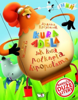Jak kura połknęła hipopotama - okładka książki