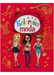 Kolorowa moda - okładka książki