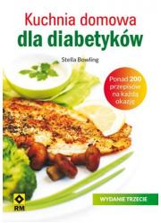 Kuchnia domowa dla diabetyków - okładka książki