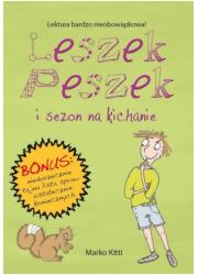 Leszek Peszek i sezon na kichanie - okładka książki