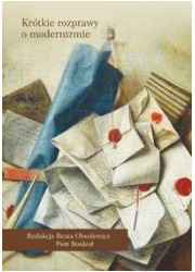 Krótkie rozprawy o modernizmie - okładka książki