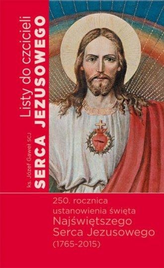 Listy do czcicieli Serca Jezusowego - okładka książki