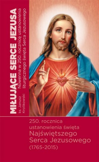 Miłujące Serce Jezusa. Nowenna - okładka książki