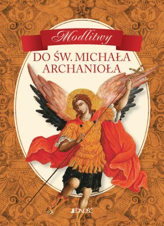 Modlitwy do św. Michała Archanioła - okładka książki