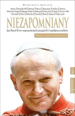 Niezapomniany. Jan Paweł II we - okładka książki