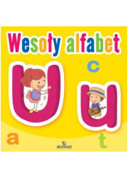 Wesoły alfabet - okładka książki
