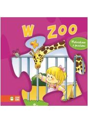 W Zoo. Maluszkowo z puzzlami - okładka książki