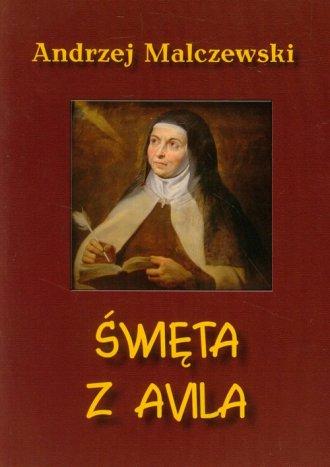 Święta z Avila - okładka książki