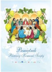 Pamiętnik Pierwszej Komunii Świętej - okładka książki