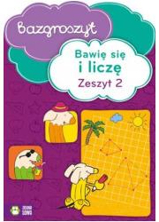 Bawię się i liczę cz. 2. Bazgroszyt - okładka podręcznika