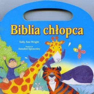 Biblia chłopca - okładka książki