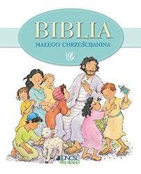 Biblia dla małego chrześcijanina - okładka książki