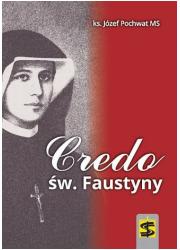 Credo św. Faustyny - okładka książki