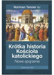 Krótka historia Kościoła katolickiego. - okładka książki