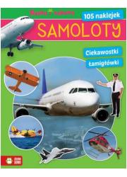 Samoloty. Nauka i zabawa - okładka książki