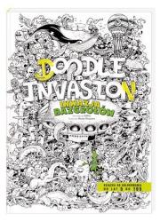 Inwazja bazgrołów. Blok rysunkowy - okładka książki