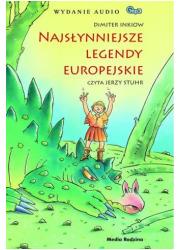 Najsłynniejsze legendy europejskie - pudełko audiobooku