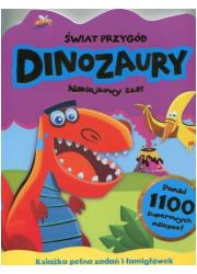 Świat przygód. Dinozaury - okładka książki